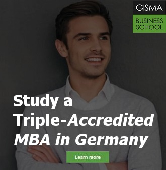 Get an MBA from GISMA Business School