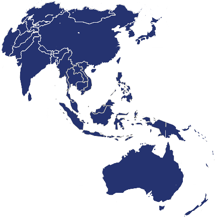 Asia & Pacific Map