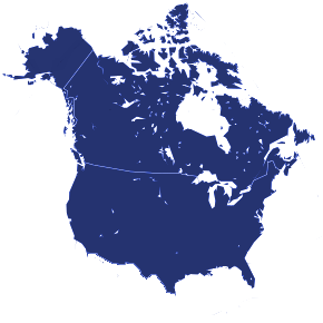 U.S.A/Canada Map
